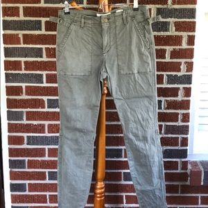Anthropologie Hei Hei Green Pant Size 28